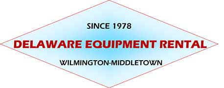 Delaware Equipment Rental Wilmington, Middletown, Newark NJ